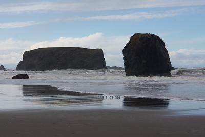 Bandon beach at Christmas