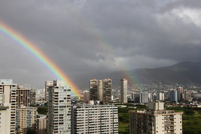 Hawaii has a rainbow on its license plate for a reason