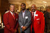 Kenneth Floyd, Allen Webb, and Mark G. Brown.  Men's Night Out event, benefiting the Denver Health Foundation, at Hyde Park Jewelers in Denver, Colorado, on Wednesday, Dec. 5, 2012.<br /> Photo Steve Peterson