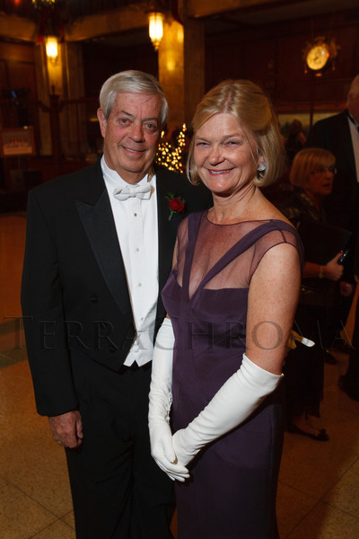Ed and Meg Nichols.  The 2012 Denver Debutante Ball, benefiting the Denver Botanic Gardens, at the Brown Palace Hotel and Spa in Denver, Colorado, on Saturday, Dec. 22, 2012.<br /> Photo Steve Peterson