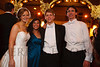 Ellie (Ellen) Toll, Kenzie Chin, Sam Buck (escort), and Whit Walker.  The 2012 Denver Debutante Ball, benefiting the Denver Botanic Gardens, at the Brown Palace Hotel and Spa in Denver, Colorado, on Sunday, Dec. 23, 2012.<br /> Photo Steve Peterson