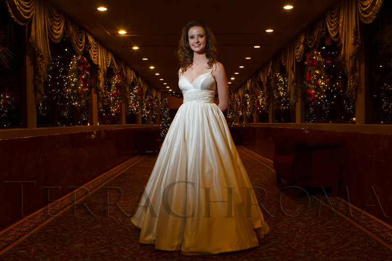 Annie White.  The 2012 Denver Debutante Ball, benefiting the Denver Botanic Gardens, at the Brown Palace Hotel and Spa in Denver, Colorado, on Saturday, Dec. 22, 2012.<br /> Photo Steve Peterson