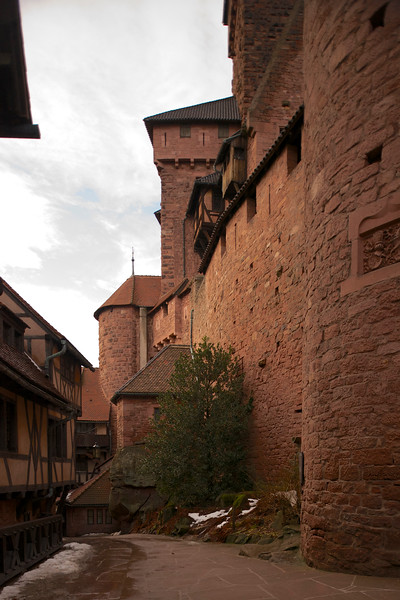 Quick stop at Koenigsbourg castle on the way to Strasbourg