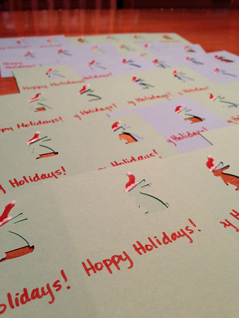 Christmas Cards for kindergarteners