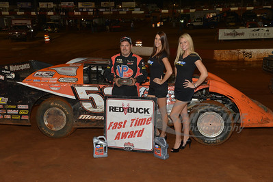 Ray Cook won the Redbuck Fast Time Award
