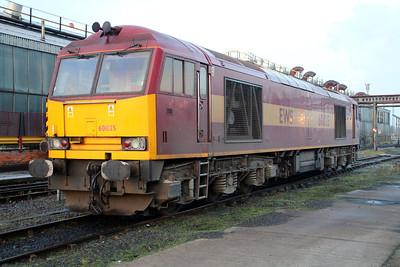 60035 sits on Immingham TMD on Saturday 24/11/12.