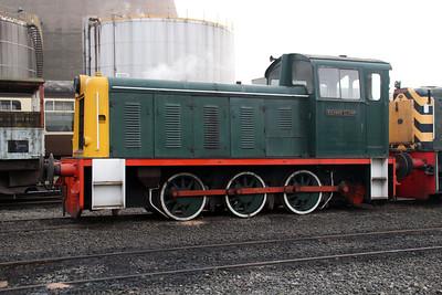 Bagnall 0-6-0DM 3151 'Richard Clarke' at Appleby Frodingham Railway, Scunthorpe Tata.