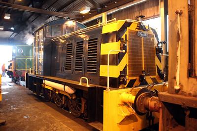 0-6-0DE 07012 at Appleby Frodingham Railway, Scunthorpe Tata.