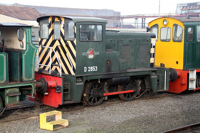 Class 02 0-4-0DH D2853 (02003) at Appleby Frodingham Railway, Scunthorpe Tata.
