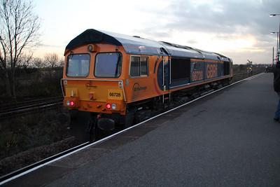 66728 1557/0e89 Lindsey-Peterborough passes Barnetby.