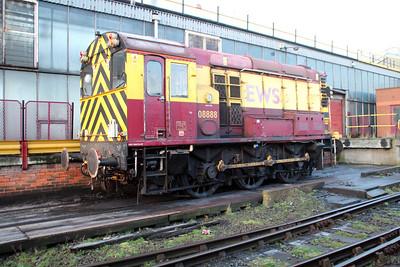 08888 sits on Immingham TMD on Saturday 24/11/12.