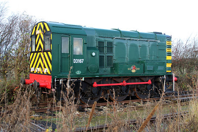 D3167 (08102) at Lincs Wolds Railway.