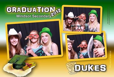 Dukes Graduation 2012