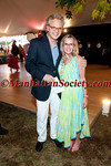 "QUOGUE - JUNE 30: Stephen Sans, Elizabeth Finkle Sans attend EAST END HOSPICE 2012 Summer Gala ""Moonlight Luau"" on Saturday, June 30, 2012 at the Potts family Sandacres Estate in Quogue, New York  (Photos by Christopher London ©2012 ManhattanSociety.com)"