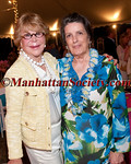 "QUOGUE - JUNE 30:<a href=""http://foundationcenter.org/grantmaker/dematteis/about.html"" target=""_blank"">Nancy DeMatteis</a> of the <a href=""http://foundationcenter.org/grantmaker/dematteis/index.html"" target=""_blank"">DeMatteis Family Foundation</a>, East End Hospice CEO, Priscilla Ruffin attend  EAST END HOSPICE 2012 Summer Gala ""Moonlight Luau"" on Saturday, June 30, 2012 at the Potts family Sandacres Estate in Quogue, New York  (Photos by Christopher London ©2012 ManhattanSociety.com)"