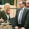 Aurelia Frick, Minister of Foreign Affairs, Liechtenstein; and Espen Barth-Eide, Minister of Foreign Affairs, Norway.