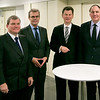 From left: Ambassador Kurt Jäger, Mission of Liechtenstein to the EU; Ambassador Atle Leikvoll, Mission of Norway to the EU; Ambassador Thorir Ibsen, Icelandic Mission to the EU; and Secretary-General Kristinn F. Arnason, EFTA-Secretariat