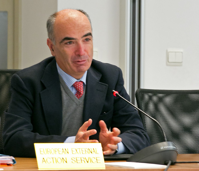 Gianluca Grippa, Head of Division, European External Action Service
