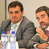 Olivier Salles, Head of Unit (right), and Tom Didrich, European Commission, DG Internal Market, presenting the Single Mark Act II at the meeting of the EEA Joint Committee on 26 October 2012.