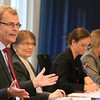 Ambassador Atle Leikvoll, Mission of Norway to the EU, chairing the meeting of the EEA Joint Committe on 26 October 2012