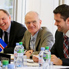 From right to left: Ambassador Martin Eyjólfsson, Mission of Iceland to EFTA and WTO, chairing the EFTA Council on 6 November 2012, and Director Gudmundur Einarsson and Secretary-General Kristinn F. Árnasson, the EFTA Secretariat