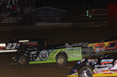 Scott Bloomquist, Duke Whiseant, John Blankenship