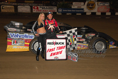 Steve Francis won the Red Buck Cigars Fast Time Award