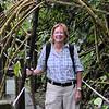 Panama - Anne on path to El Macho falls