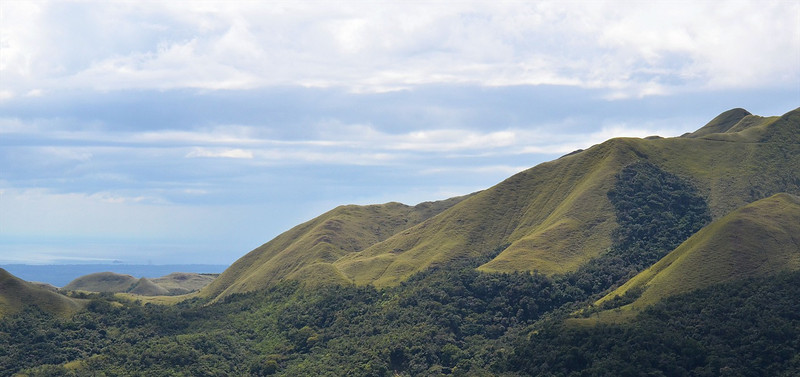 Panama - view on the road to El Valle
