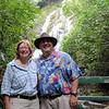 Panama - Anne and William at El Macho falls