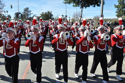 End of Rose Parade 1-2-2012