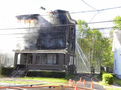 Enfield, CT General Alarm 42-44 Park Avenue 4/27/12
