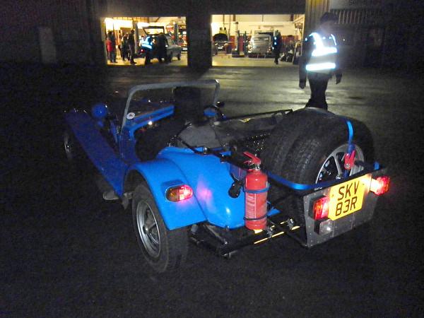 Exeter Trial - 6/7 Jan 2012