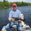 STAN ON KLEUTSCH LAKE WITH A NICE BASS