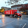 A Coke Truck in Northampton.