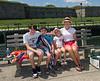 Benjamin, Joey, Hannah, and Caroline at Castle Island