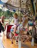 Hannah on carousel