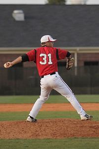 Number 31, Will Canady pitching