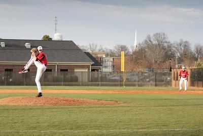 Number 19, Brock Wilson pitching