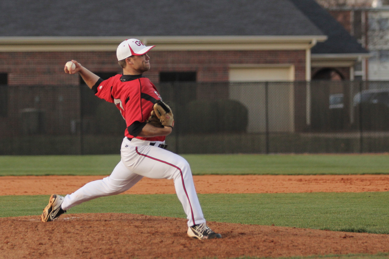 Number 31, Will Canady pitches the ball