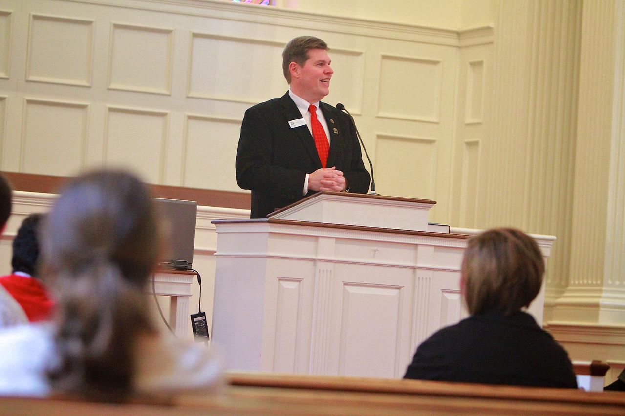 Cooperative Baptist Fellowship North Carolina chapel service.