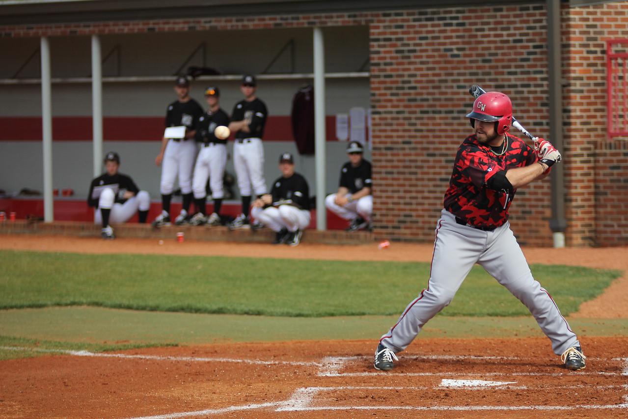 Number 15, Dusty Quattlebaum, up to bat.