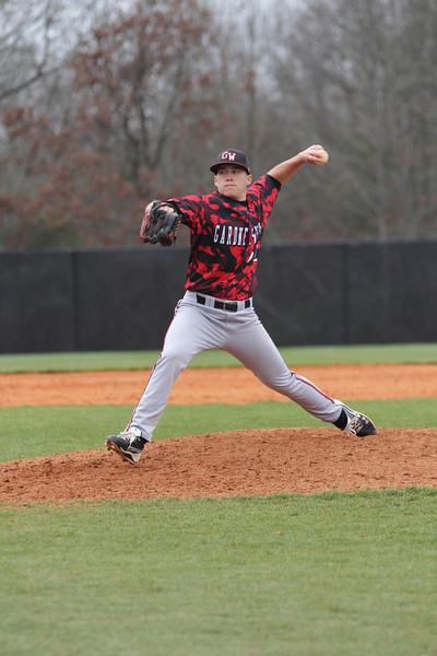 Number 32, Mitch Warner, pitching.