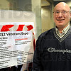 Champion: Douglas Meissel is the Event Coordinator for the 2012 Veterans Expo.