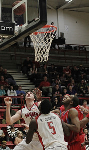 The Runnin Bulldogs anticipate the ball going in the basket