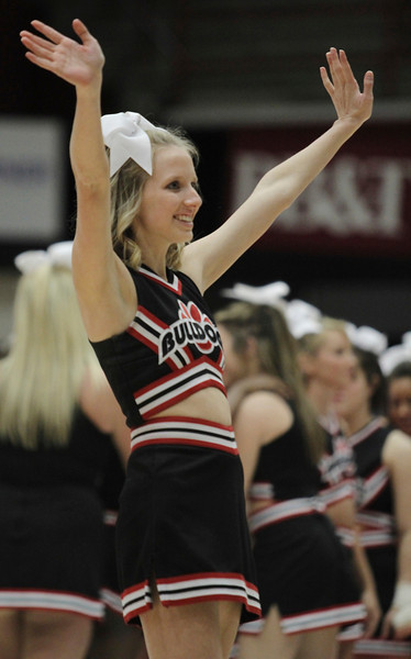 Gardner-Webb Cheerleader, Cameron Puckett