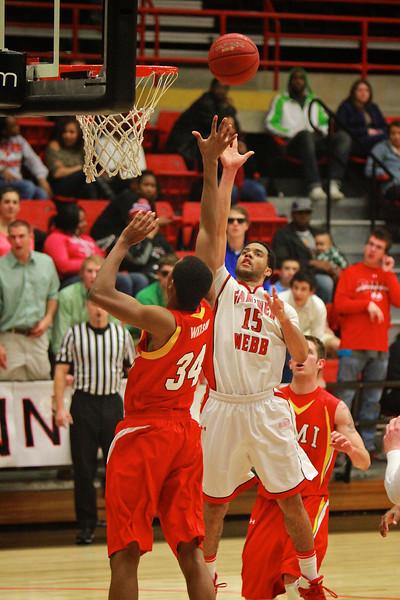 Men's Basketball vs. VMI; Feb 11, 2012.