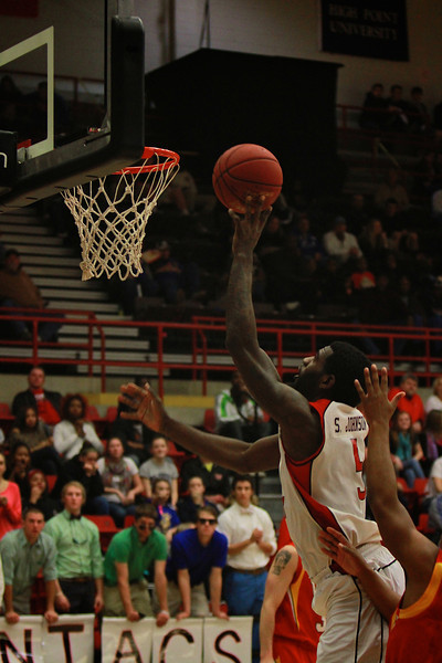 Men's Basketball vs. VMI; Feb 11, 2012.