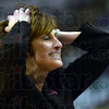 Can't believe it: Indiana State University coach Teri Moren reacts to call by an official during game action Sunday at Hulman Center.