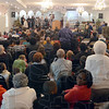 Standing room only: The Grace Temple Church was filled to capacity for Sunday evening's 7th Annual Black History Celebration.